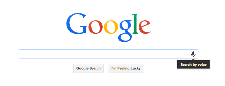 Google Now, Google Search-by-Voice and conversational search