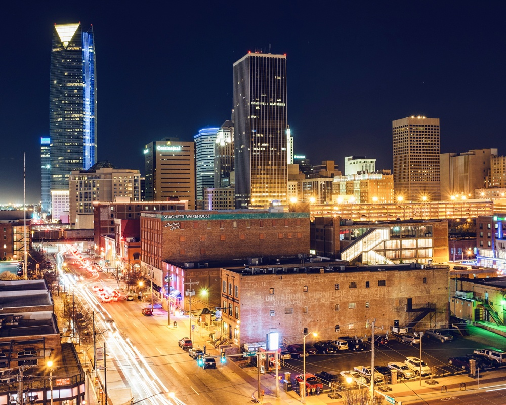 OKC cityscape