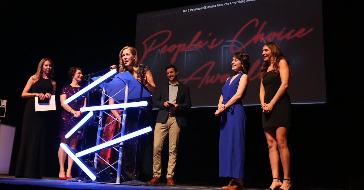 2019 People's Choice Award Oklahoma City Addy Awards