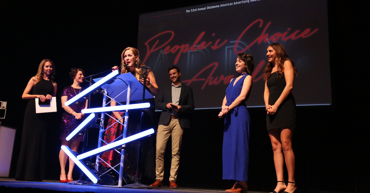 2019 People's Choice Award Oklahoma City Addy Awards