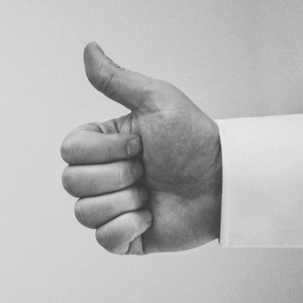 Thumbs Up on Customer Reviews