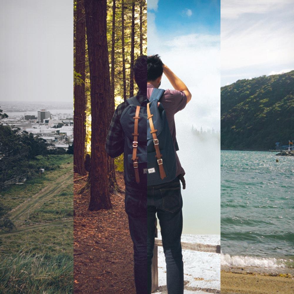 Man Hiking Culture