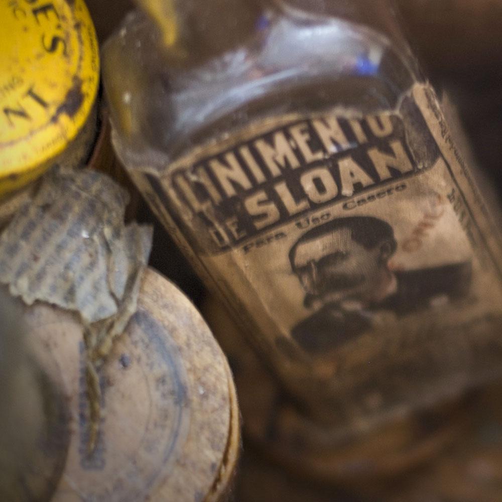 Old tonic snake oil bottle