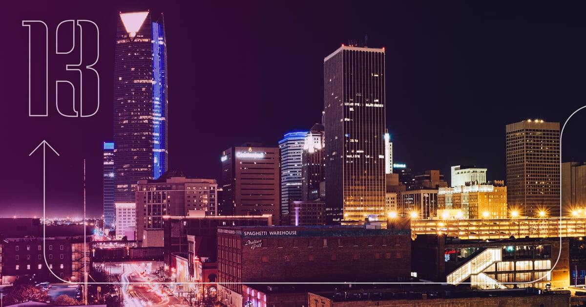 Oklahoma City 30 Days of Change VI Marketing