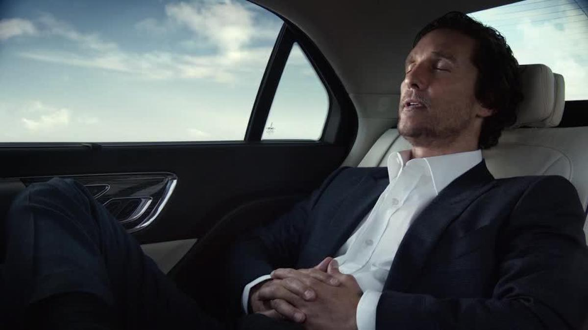 Matthew McConaughey Lincoln TV advertisement