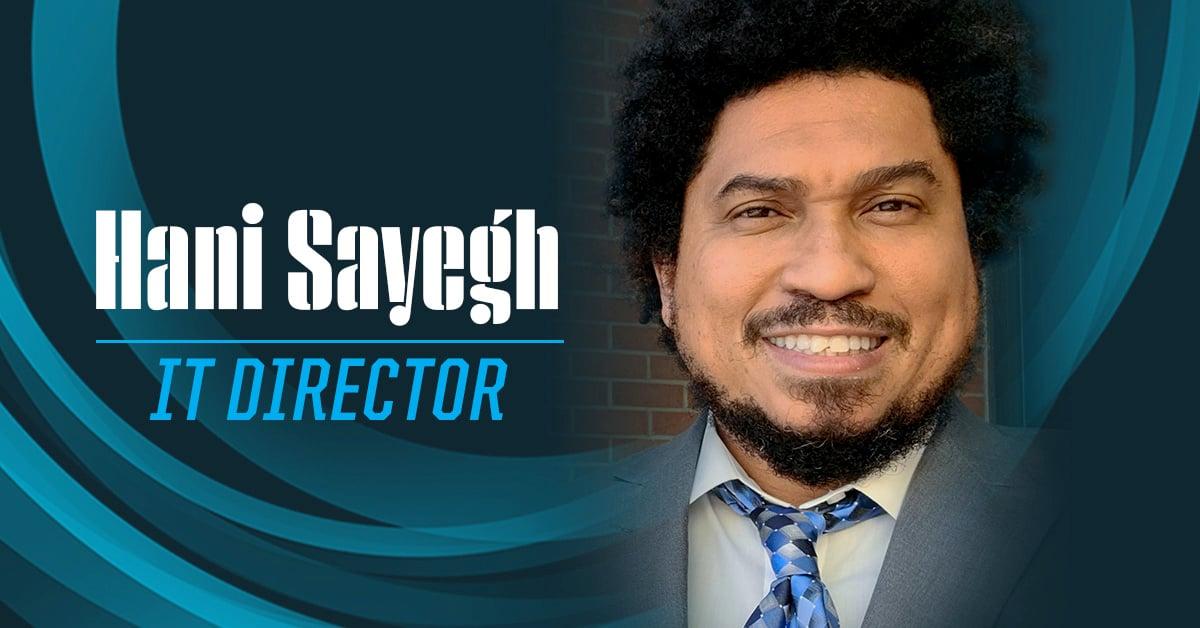 IT Director Hani Sayegh