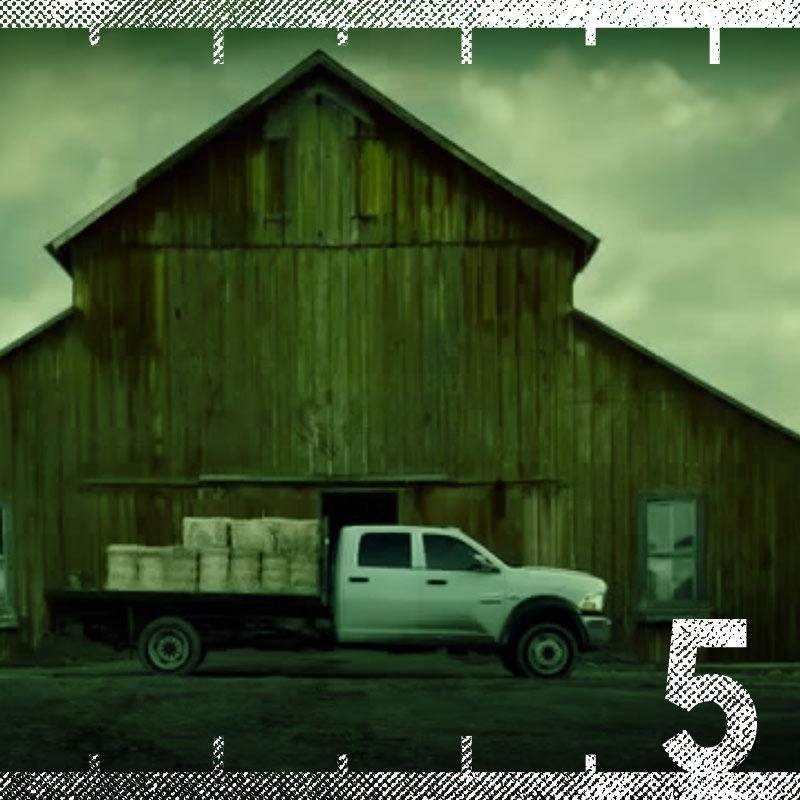 "RAM Truck ""God Made a Farmer"" Super Bowl Commercial"