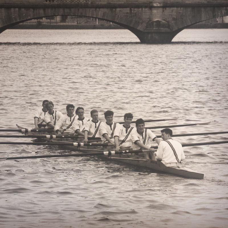 Marketing Team Rowing Together