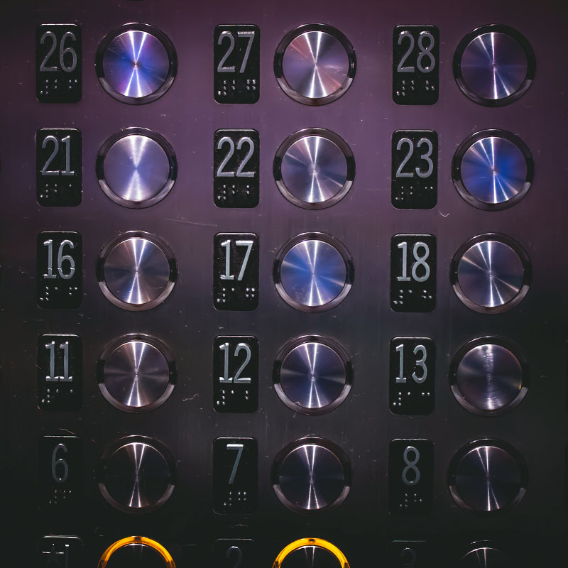 Elevator Speech Buttons