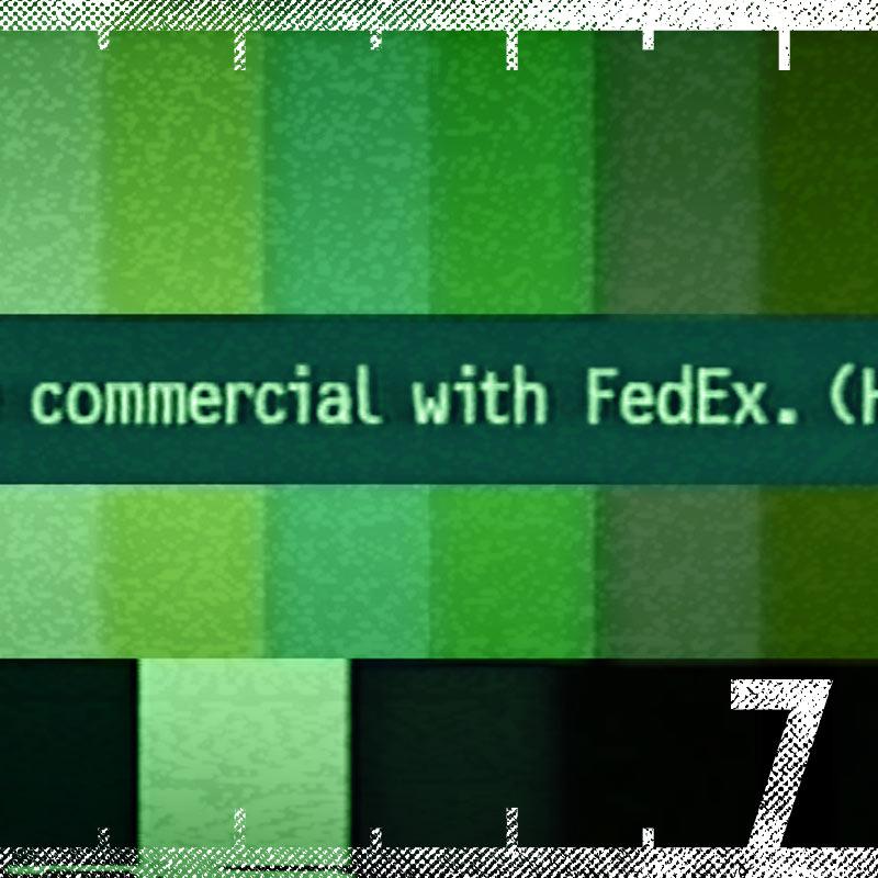 """FedEx """"We Apologize"""" Super Bowl Commercial"""