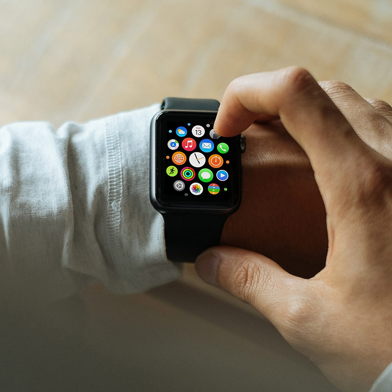 Apple iWatch for banking tech trend