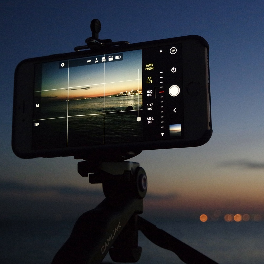 smartphone camera edit