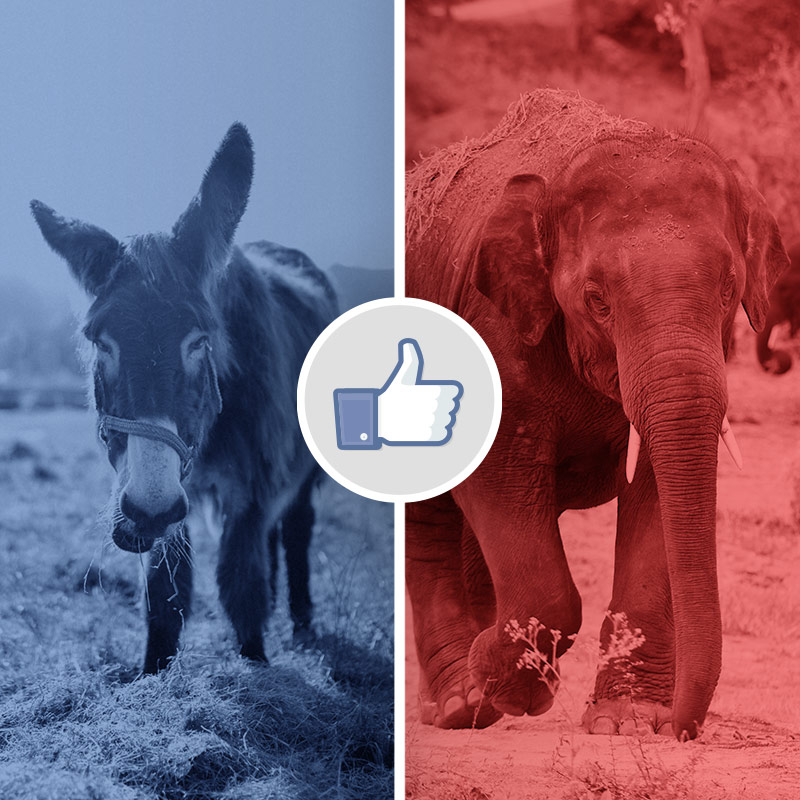 Political advertising on social media