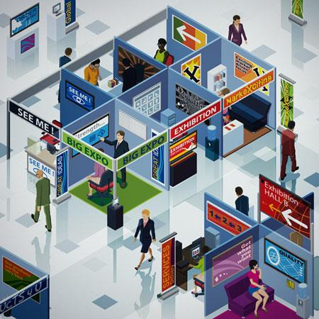 "Tradeshow ""trade show"" booth marketing"