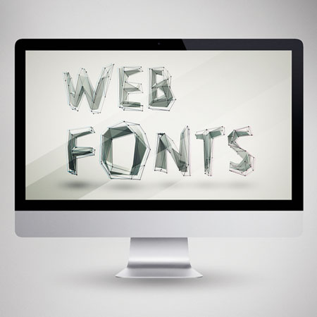 Web Fonts HTML Marketing