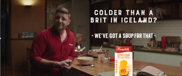 Campbells Soup iceland