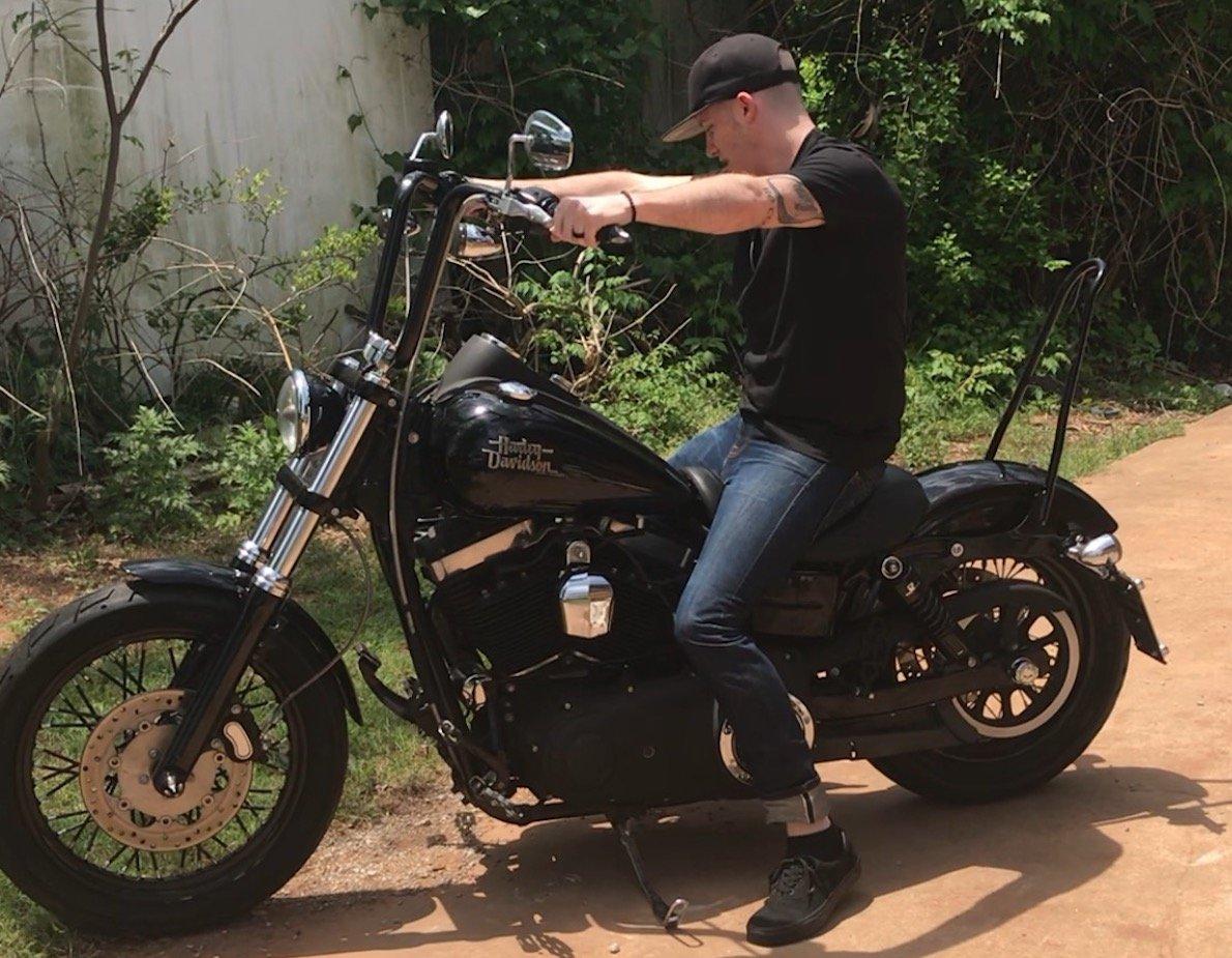 Aaron Miller and Harley Davidson