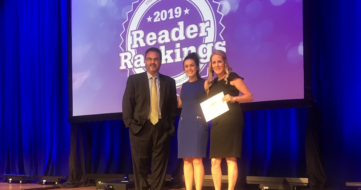 Journal Record Reader Ranking winner 2019