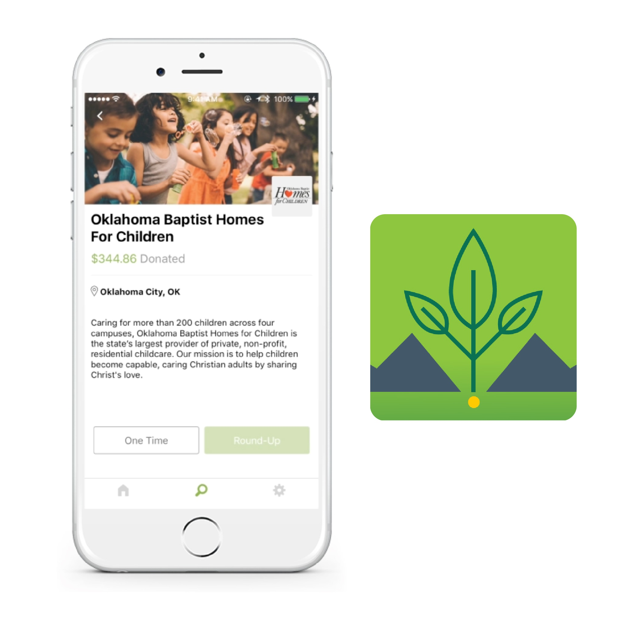 Mustard Seed App created by VI Marketing and Branding for Baptist Foundaiton of Oklahoma