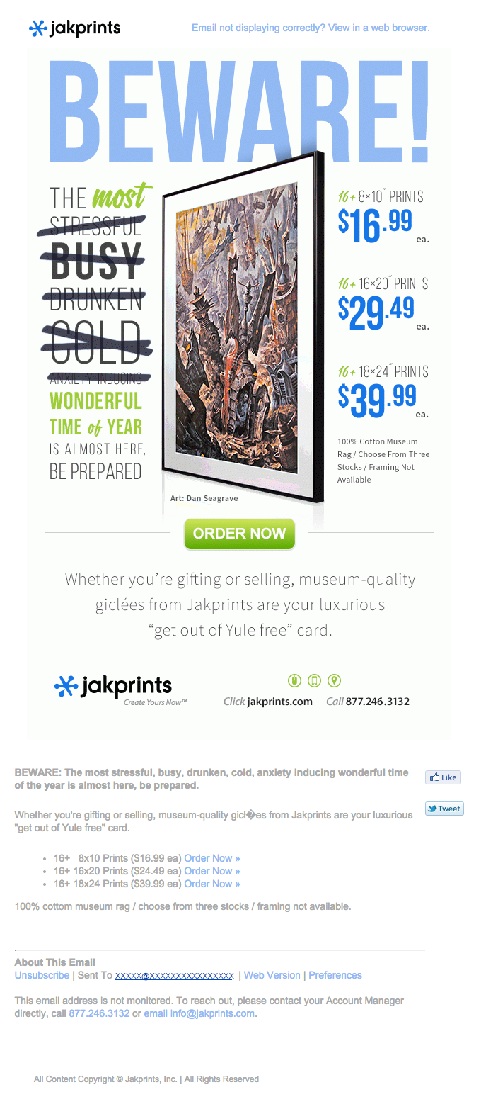 Sale-Email-from-JakPrints