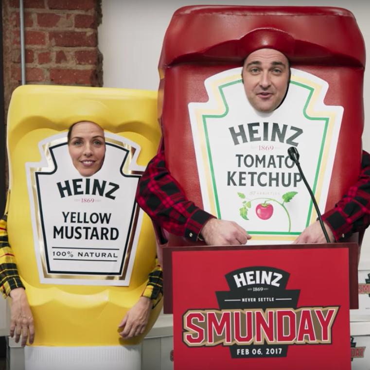 """Heinz's """"Smunday"""" Super Bowl ad"""
