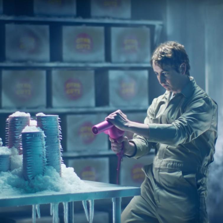 "Wendy's ""Cold Storage"" Super Bowl ad"