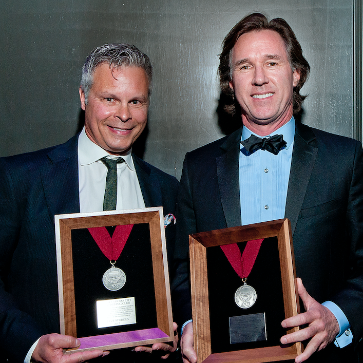 VI Marketing and Branding Steve Sturges and Tim Berney receive Silver Medal award at Oklahoma City Addys.