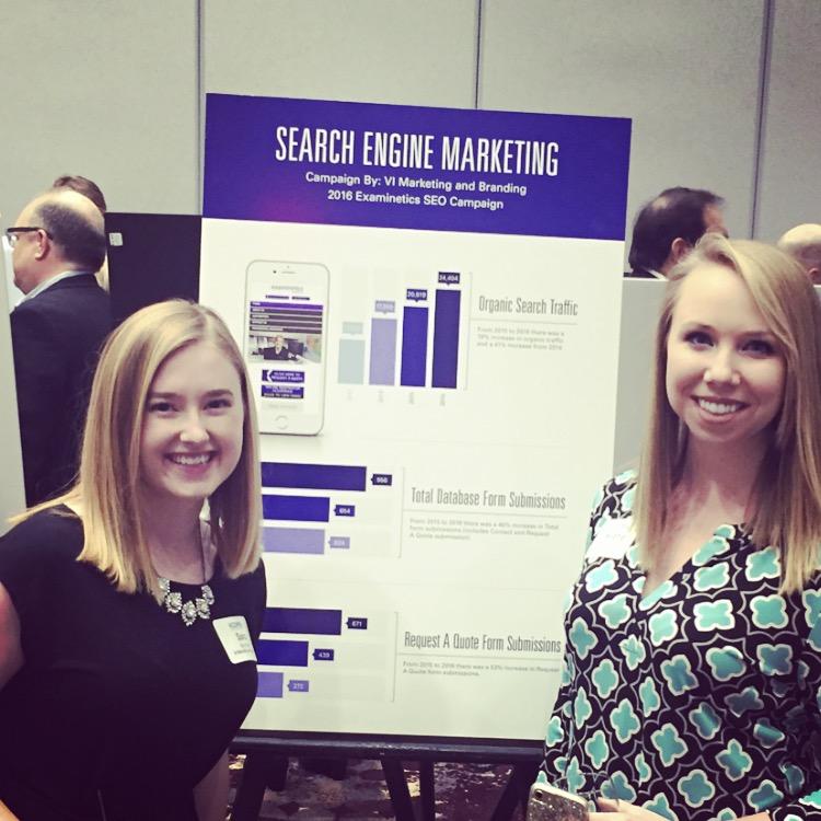 Kansas City VI Marketing and Branding team at the 2017 Ambit Awards