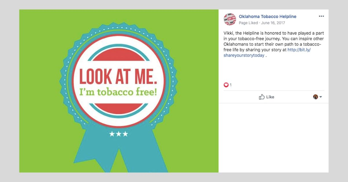 Tobacco free badges